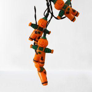 Other - 🌼3/$18 Jack-O-Lantern Scarecrow Lights Strand